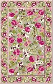 marcella vera bradley signature vby070b make me blush green pink