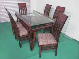 Glass Top Dining Table Clasf - Glass top dining table hyderabad