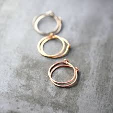 creoles or creoles or recyclé 14k or palladium blanc or ou
