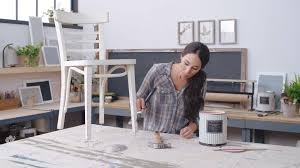 how to paint legged furniture with joanna gaines southern living