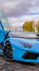 car lamborghini blue download wallpaper 750x1334 lamborghini aventador blue paris