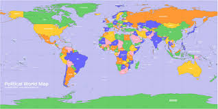 Political Map Of Canada World Map
