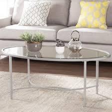 oval coffee tables you u0027ll love wayfair