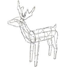 Christmas Deer Decorations Uk by Reindeer Decorations Amazon Co Uk