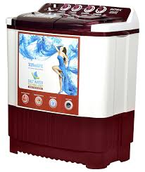 intex 7 6 kg semi automatic top loading washing machine wms76ft