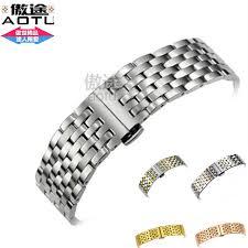 tissot steel bracelet images Durable 316l stainless steel wrist bracelet for tissot t41 le jpg