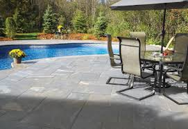 pool patio pavers decorating awesome decoration of cambridge pavers surrounding the