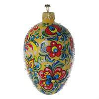 glass easter egg ornaments christmas ornaments world eggs