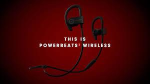 powerbeats3 wireless earphones black apple