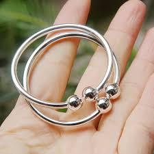 bracelet ring silver images 990 pure silver bracelet plain baby child bangles hand ring baby jpg
