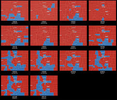 1972 Election Map by Colorado Election Results Over Time Denver Has Picked A