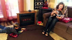 lifesmart infared fireplace youtube
