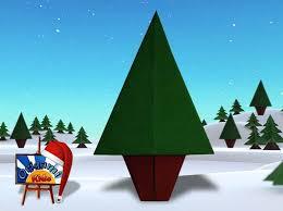 easy origami christmas tree for kids