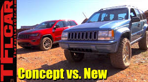 new jeep concept concept vs new jeep grand one concept vs 2017 grand cherokee off