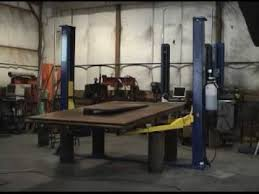 Low Ceiling 2 Post Lift by Testing And Complete Failure Of A 10 000 Lb Two Post Car Lift