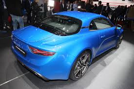 alpine a110 lightweight alpine a110 coupe detailed gets a 247hp 1 8lt turbo