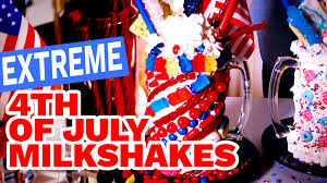 extreme 4th of july milkshakes video hgtv
