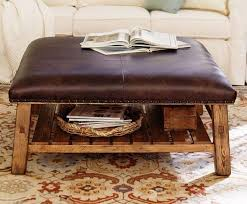brown leather square ottoman the 50 most beautiful coffee tables ever coffee 50th and ottomans