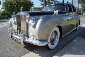 bentley silver 1961 bentley s2 sedan black leather stock 6cu for sale near