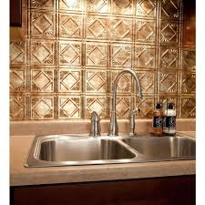 Backsplash In Kitchen Fasade 24 In X 18 In Traditional 4 Pvc Decorative Backsplash