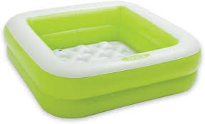 Bathtub For Baby Online India Intex Square Baby Bath Tub Green Inflatable Pool Price In India