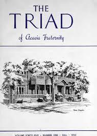 Triad Flag Football Acacia Triad Vol 44 No 4 Summer 1950 By Acacia Fraternity Issuu