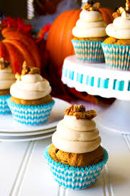 Pumpkin Cupcakes by Pumpkin Cupcakes With Maple Cream Cheese Frosting Pack Momma