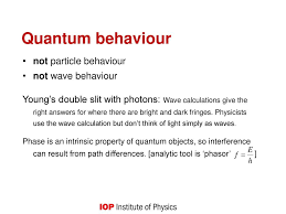 quantum phenomena ppt download