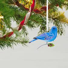 of birds mountain bluebird ornament keepsake ornaments
