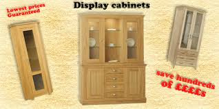 solid oak china cabinet dining display cabinets oak display units solid oak display