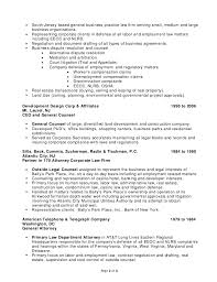 Sample Resumes For Lawyers by Stephen H Joseph Resume Labor And Employment