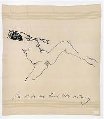 tracey emin just like nothing contemporary drawing pinterest