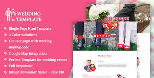 Marriage Invitation Websites My Wedding Wedding Invitation Template By Kamleshyadav Themeforest