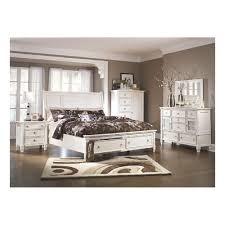 White Storage Bed Prentice Queen Storage Bed In White B672 98 B672 77 B672 74
