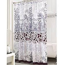 Purple Shower Curtain Sets - bath studio oxford weave textured shower curtain set color purple