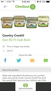 find out how you can get country crock butter for only 1 25 at