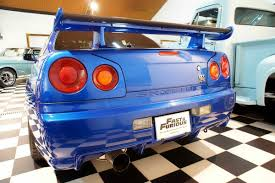 nissan skyline fast and furious interior paul walker u0027s nissan skyline gt r from fast u0026furious 4 up for sale