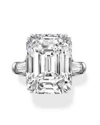 engagement rings emerald cut emerald cut engagement rings martha stewart weddings