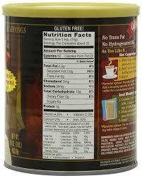 amazon com caffe d u0027vita amaretto instant cappuccino 16 ounce