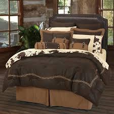 Western Bedding Set Barbewire Chocolate Western Bedding Comforter Set