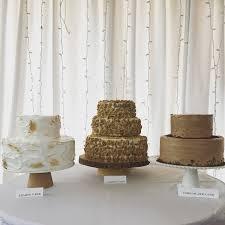 Wedding Cake Trio With No Fondant Lemon Cake Carrot Cake And