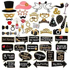 wedding photo props wedding photo booth props kit konsait bridal shower