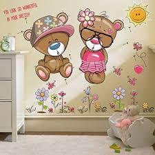 autocollant chambre bébé stickers chambre bebe fleurs comparer 19 offres