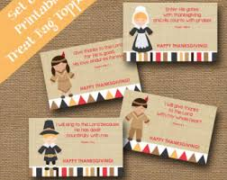 thanksgiving treat bag toppers for colorful turkey