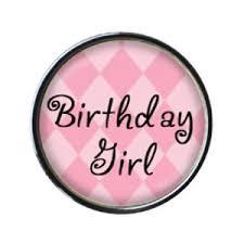 birthday girl birthday girl circle beecause charms