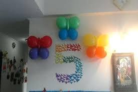 balloon centerpiece ideas birthday simple decoration at home