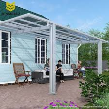 Clear Awnings For Home Polycarbonate Carport Aluminum Carports Car Parking Shade Shelter