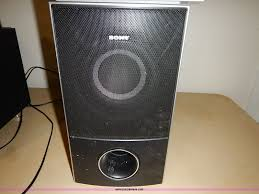 sony home theater subwoofer sony home theater system item av9633 sold january 21 se