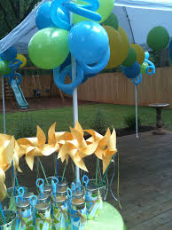 large birthday balloons outdoor birthday balloons tent decor with large balloons and