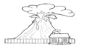 coloring pages volcano coloring pages volcano coloring pages size printable activities